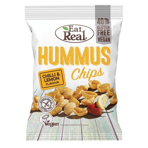 Chili Lemon Hummus Chips 40g
