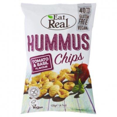 Tomato Basil Hummus Chips 40g