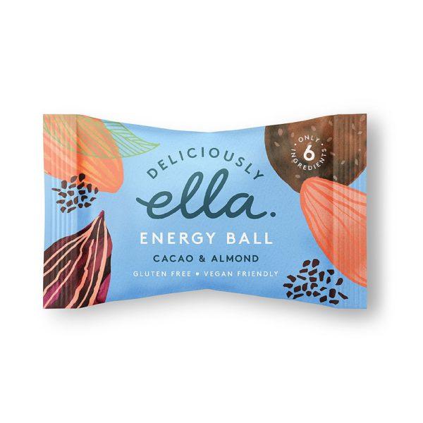 Cacao & Almond Energy Ball 36g
