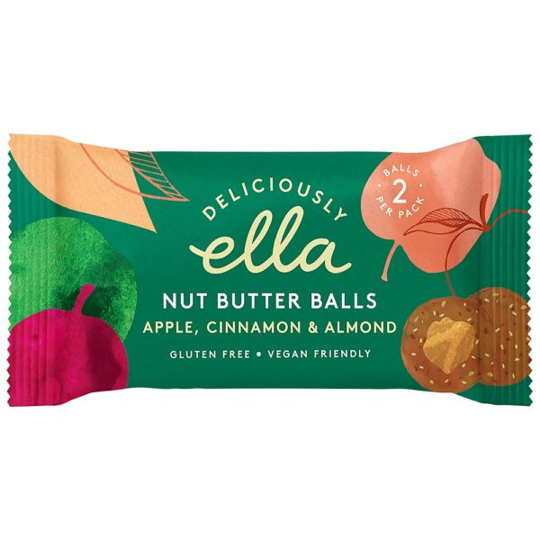 Apple Cinnamon Nut Butter Balls 36g