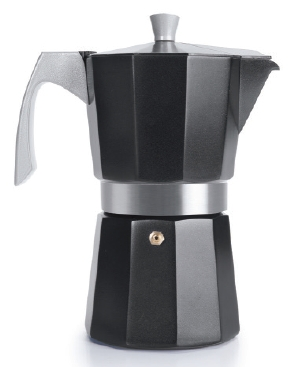 Expresso Coffee Maker EVVA Black 3 cups - IBI0623103