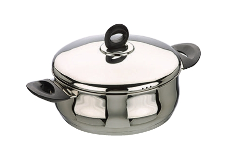 Casserole Belly Shape with Lid Bali 20cm - IBI0660020