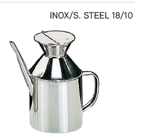 Oil Can S/Steel 0.5ltr - IBI0700105