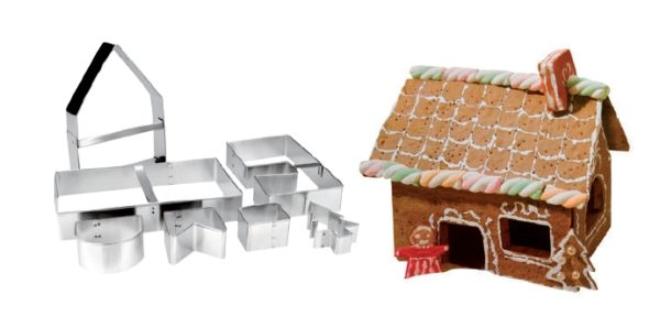 Set 7 cookie cutters house - IBI0779800