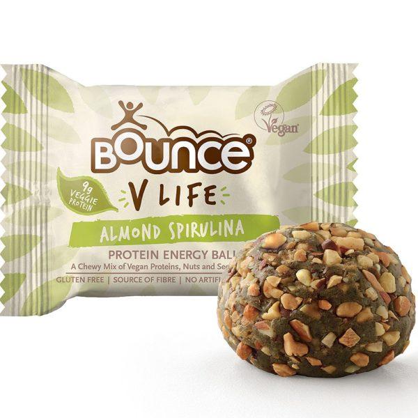Almond & Spirulina Protein Ball 40g