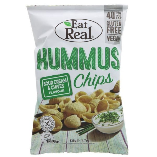 Sour Cream & Chives Hummus Chips 40g