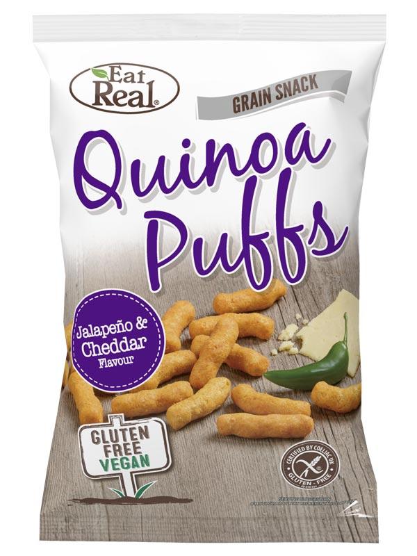 White Cheddar & Jalapeno Quinoa Puffs 40g