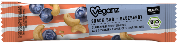 Organic Snack Bar Blueberry